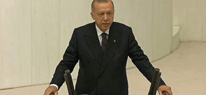 """Erdoğan; En güzel hediyemiz yeni anayasa olacaktır"""""""