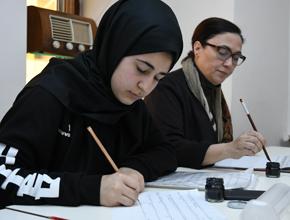 İlk kez seramik, kanun ve kaligrafi kursu veriliyor