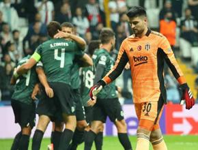 Beşiktaş evinde farklı mağlup