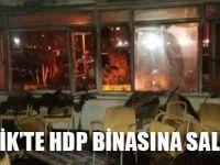 HDP Pendik İlçe Başkanlığı'na Saldırı