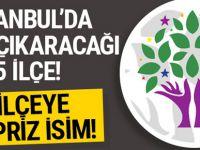 HDP İstanbul'un 5 ilçesinde aday çıkarıyor!