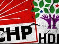 HDP'den CHP'ye büyük katılım..