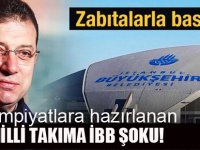 İBB'den Milli Takımı tesislerden çıkarma girişimi!