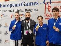 Türk Telekom Tekvandocularına 3 Altın Madalya