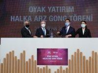 """Borsa İstanbul'da Gong """"OYAK Yatırım"""" İçin Çaldı"""
