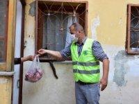 Tuzla'da İhtiyaç Sahiplerine Kurban Eti