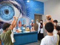 Yaz Bilim Kampı'nda hem Eğleniyor hem de Öğreniyorlar