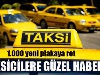 İBB'nin 1000 adet yeni taksi teklifine ret