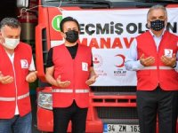 Tuzla Belediyesi yardım tırları Manavgat'a gidiyor