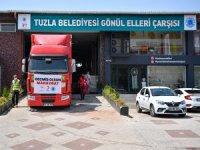 Tuzla'dan Manavgat'a Yardım