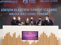 Borsa İstanbul'da Gong Girişim Elektrik Sanayi İçin Çaldı