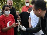 Başkan Yazıcı'dan Cağ Kebabı İkramı