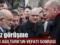 Erdoğan SP lideriyle bir araya geliyor