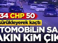 Polisi sürükleyen aracın sahibi CHP'li başkan çıktı!