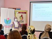 Tuzlalı Kadınlara 'Saksıda Sebze Yetiştiriciliği' Kursu Verildi