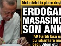Son anket Başkan Erdoğan'ın masasında